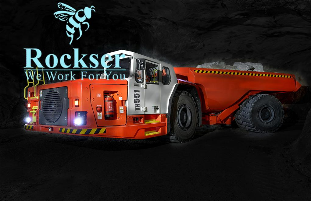Sandvik        Tamrock  Underground Truck